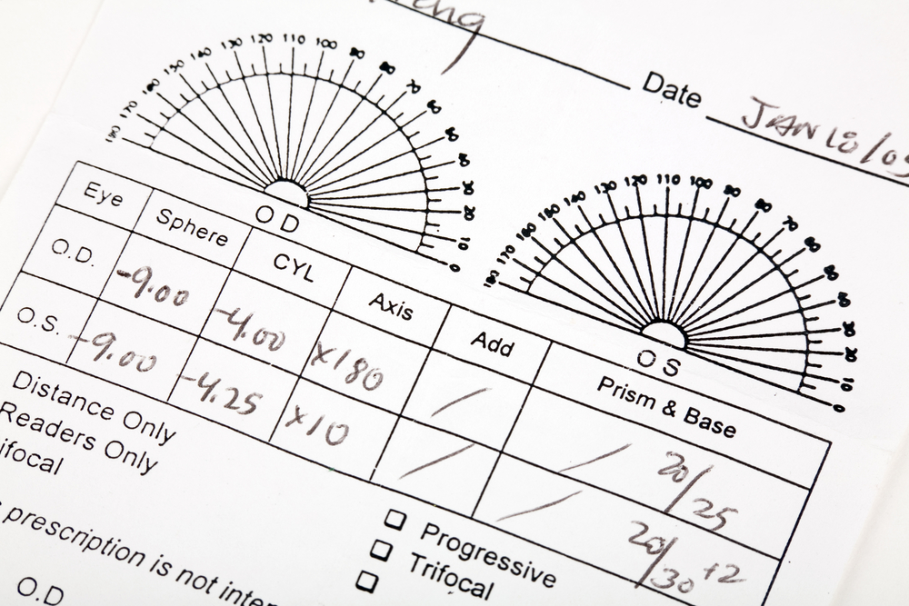 How to Read Your Eyeglass Prescription After an Exam - First Eye Care DFW